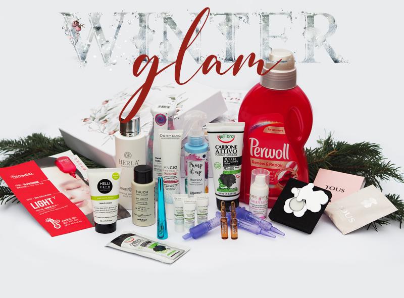 Pudełko z kosmetykami winter glam
