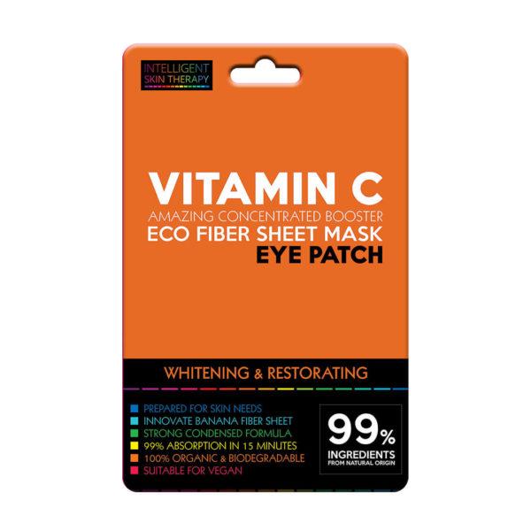 vitamin c płatki pod oczy