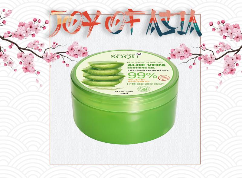 Box z kosmetykami azjatyckimi