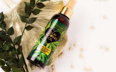 Nawilżający olejek z konopiami od BIELENDA
